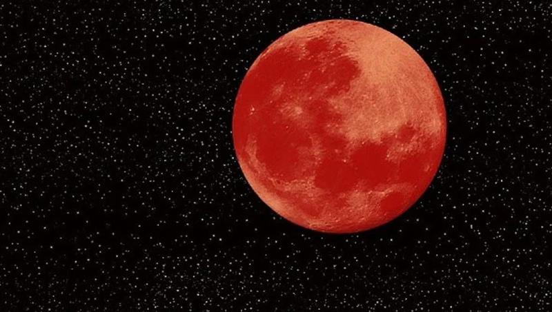 super moon red moon